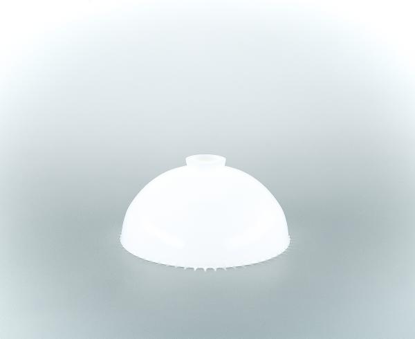 Glasschirm 69 Opalweiß