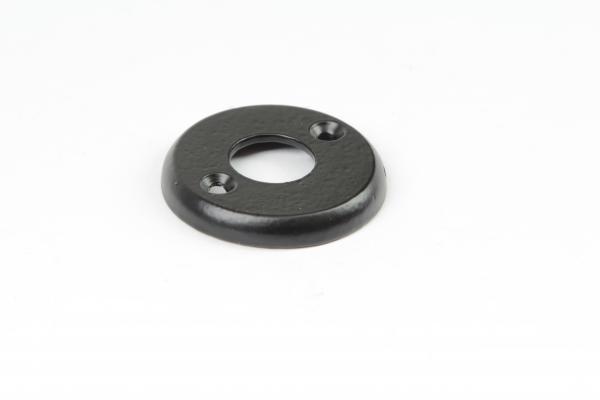 Drückerrosette Eisen schwarz pulverbeschichtet