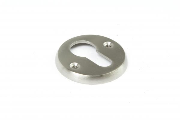 Schlüsselrosette Profilzylinder Nickel matt