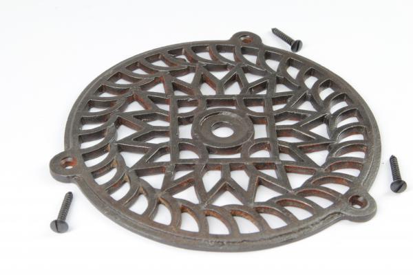 Ziergitter Eisen Antik