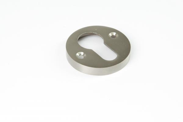 Schlüsselrosette PZ Nickel matt