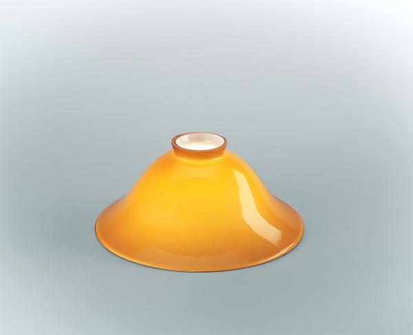 Glasschirm 22 Cognac