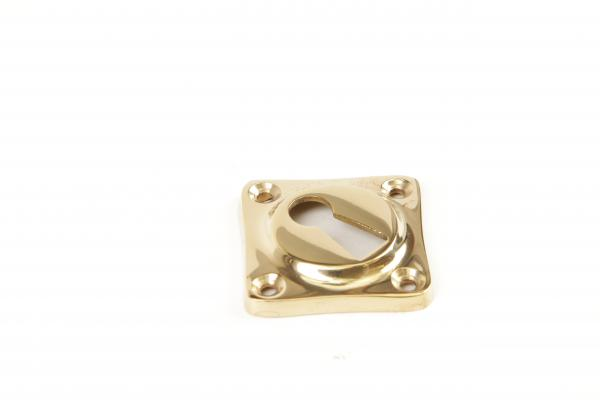 Schlüsselrosette BB Messing Glanz