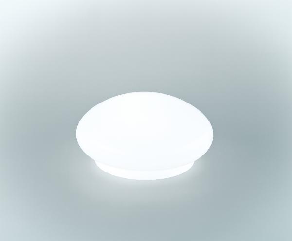 Glasschirm 126 Opalweiß