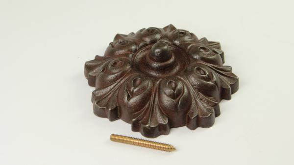 Zierrosette Eisen Antik
