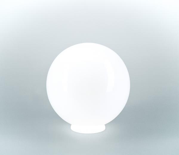 Glasschirm 120 Opalweiß