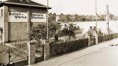 Gelände der Bolichwerke